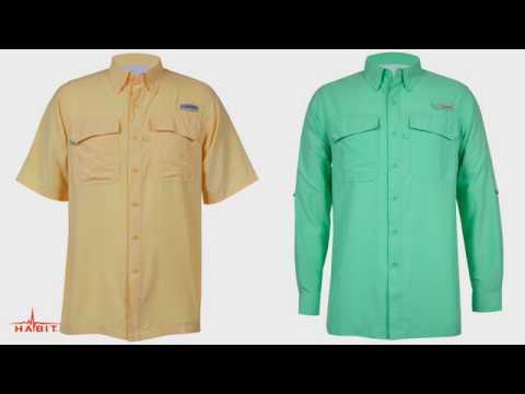 Habit Men's Taku Bay River Guide Fishing Shirt