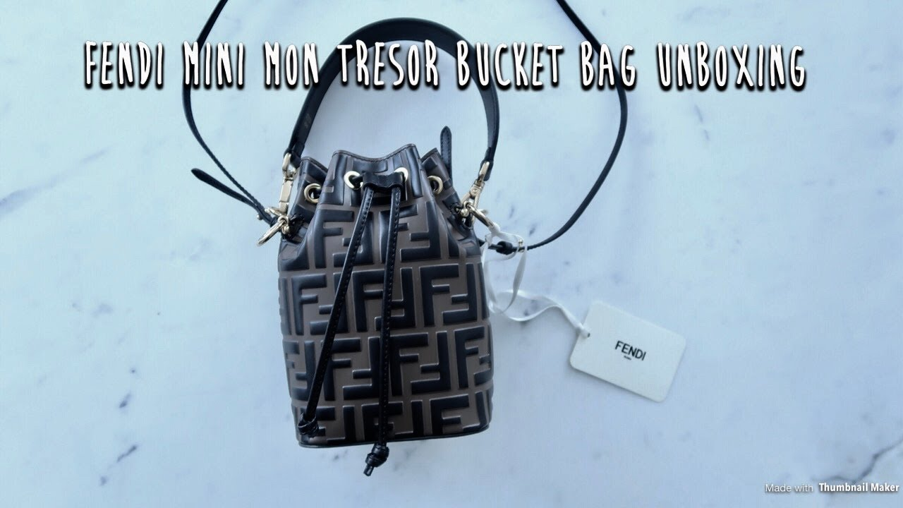 ce8ceca395a6 Fendi Mini Mon Tresor Bucket Bag - YouTube