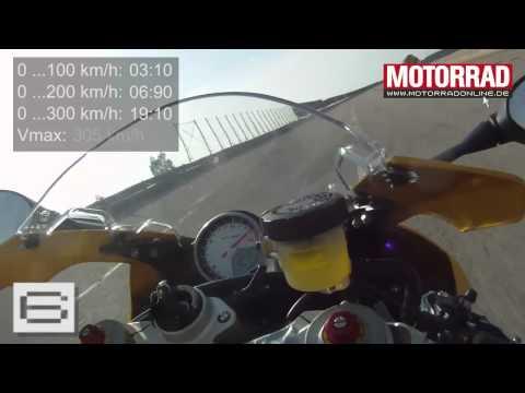 Bmw S 1000 Rr 0 300 Kmh Max Beschleunigung Und Verzögerung