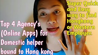 Download Agency bound to Hongkong/Domestic helper Direct