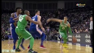 Jayson Tatum Highlights vs Philadelphia 76ers (16 pts, 4 reb, 2 ast)