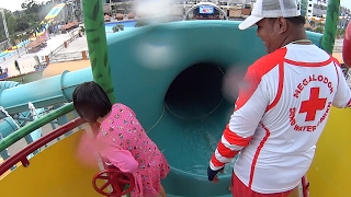 Kids Water Slide at Dino Water Park