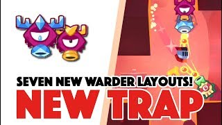 King of Thieves - SEVEN Warder Traps Update 2.26