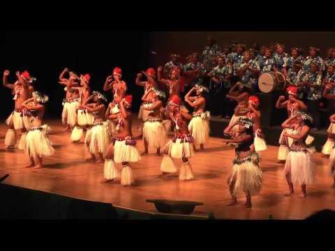 Cook Islands Te Maeva Nui 2012 - Mitiaro Kapa Rima
