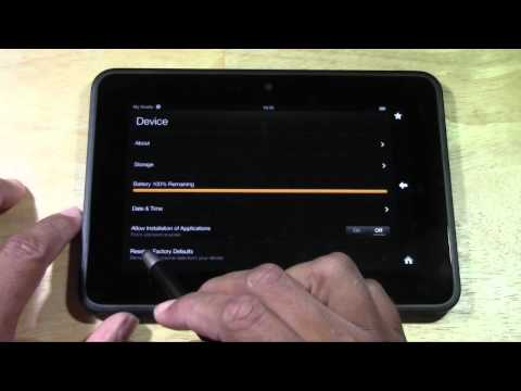 How to De-Register Amazon Kindle Fire before Selling or