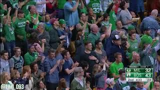 Boston Celtics R1G7 Defensive Highlights vs Milwaukee Bucks (04/28/2018)