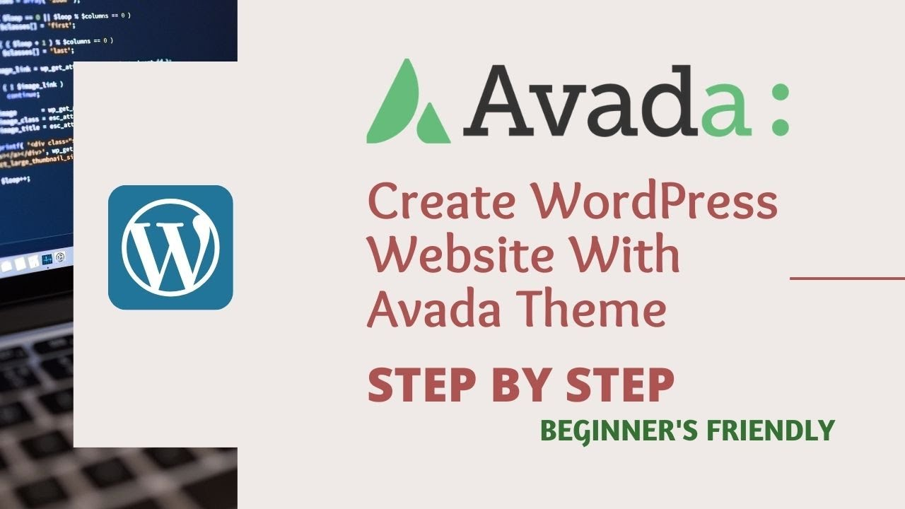 Download How to Create WordPress Website With Avada Theme for Beginners   Step By Step   2021  