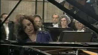 J.Cikker Concertino pre klavír a orchester, Sylvia Čápová Vizváry