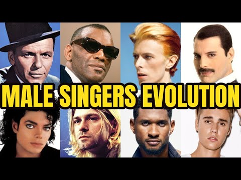 The Evolution Of Male Singers!