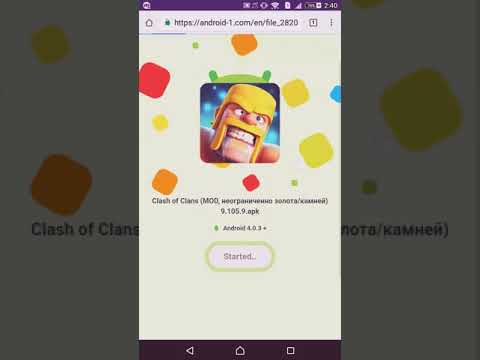 HOW TO DOWNLOAD CLASH OF CLAN MOD APK ON YOUR ANDROID DEVICE