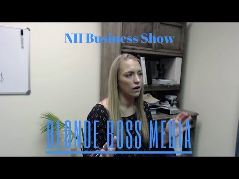 NH Business Show | Blonde Boss Media - Hannah Greenwood