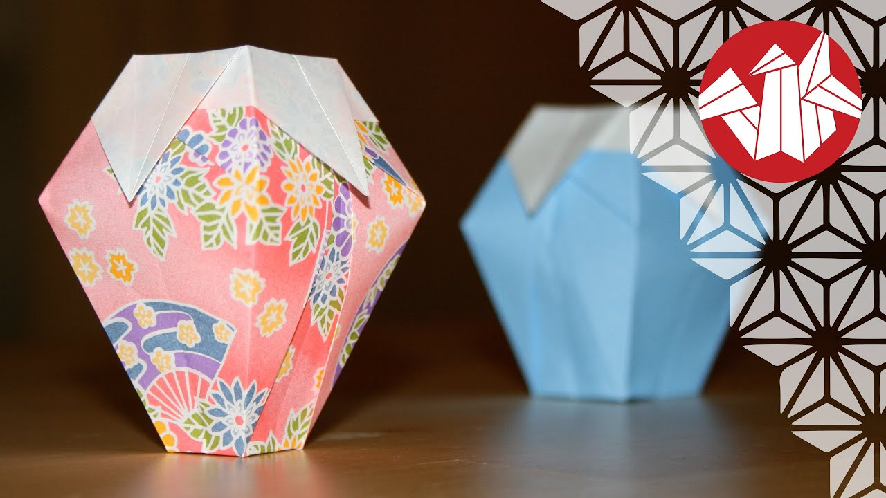 Origami vase hd senbazuru youtube reviewsmspy