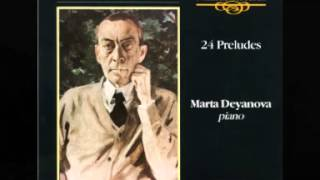 Marta Deyanova plays Rachmaninov 24 Preludes