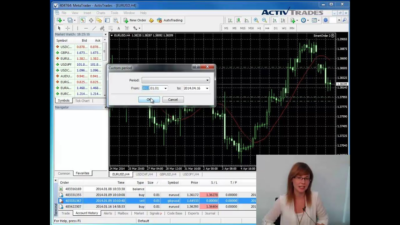 Activtrades Mt4 How To Export Your Account History To Excel