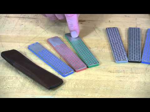Video of 4-inch Diamond Whetstone™ Models