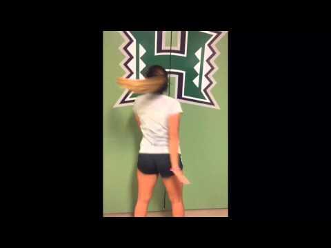 Hawaii Womens Soccer Running Man Challenge