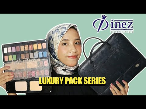 one-brand-makeup-tutorial-with-inez-palette-cosmetics---luxury-pack-series-review-+-first-impression