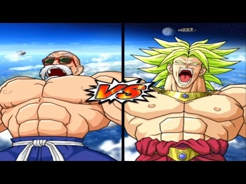 [Hard] DBZ BT 3 Master Roshi (Max Power) vs Broly Legendary Super Saiyan
