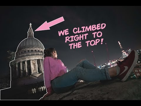 Climbing St Paul's Cathedral!