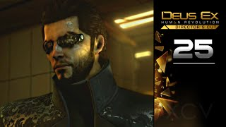 Deus Ex Human Revolution Gameplay Walkthrough Directors Cut Part 25 covers Main Mission Gaining Access to Tai Yong Medical Stealth gameplay no