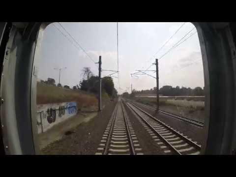 Amtrak Train 172 -  Kingston to Providence Rear View  (Go Pro)