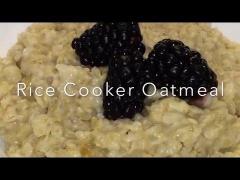 Rice Cooker Oatmeal