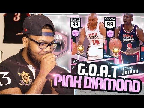 NBA 2k17 MyTeam - 99 OVR Pink Diamond Charles Barkley + Michael Jordan! Greatest Cards In The Game!
