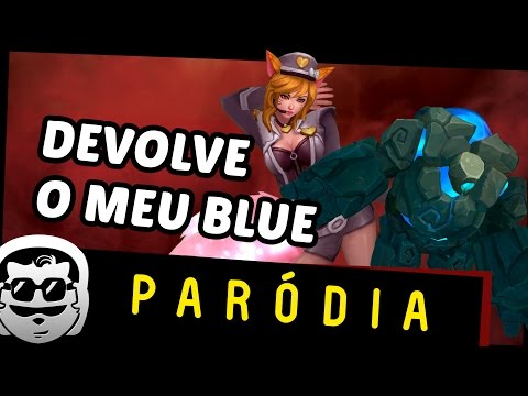 Lendarios - DEVOLVE MEU BLUE | Parodia Ellie Goulding - Love Me Like You Do
