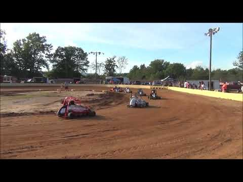 ERM Racing/Little Linda's Speedway Jr Honda Heat Race-6/25/2019