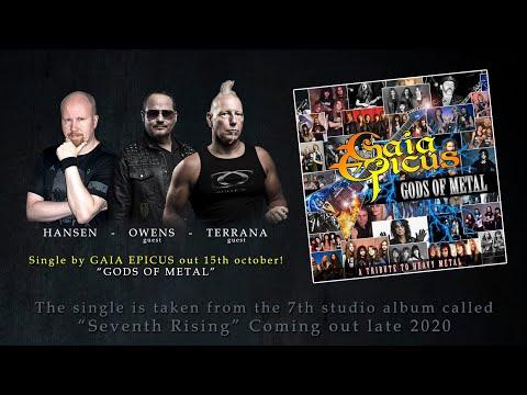 Gaia Epicus - Gods Of Metal (feat Tim Ripper Owens & Mike Terrana)