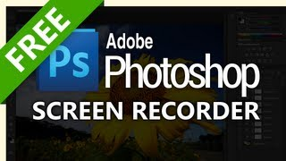 How to screen record Photoshop