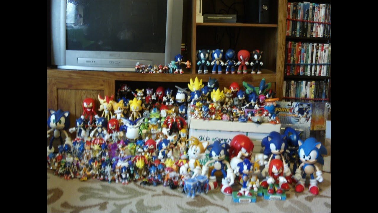Sonic Action Figure Co... Super Sonic And Super Shadow And Super Silver Toys
