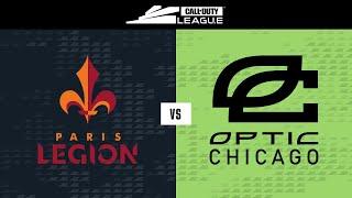 @Paris Legion vs @OpTic Chicago   Stage V Week 1 — New York Home Series   Day 1