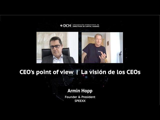 La visión de los CEOs | Armin Hopp, President & Founder at SPEEXX