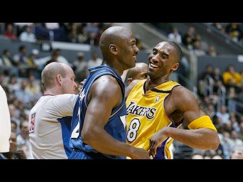 7e3347f11242 Kobe Bryant vs Michael Jordan LAST Duel 2003.03.28 - 23 Pts For MJ ...