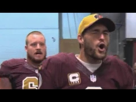 "Kirk Cousins ""Ooooweee"" Celebration after the Win"
