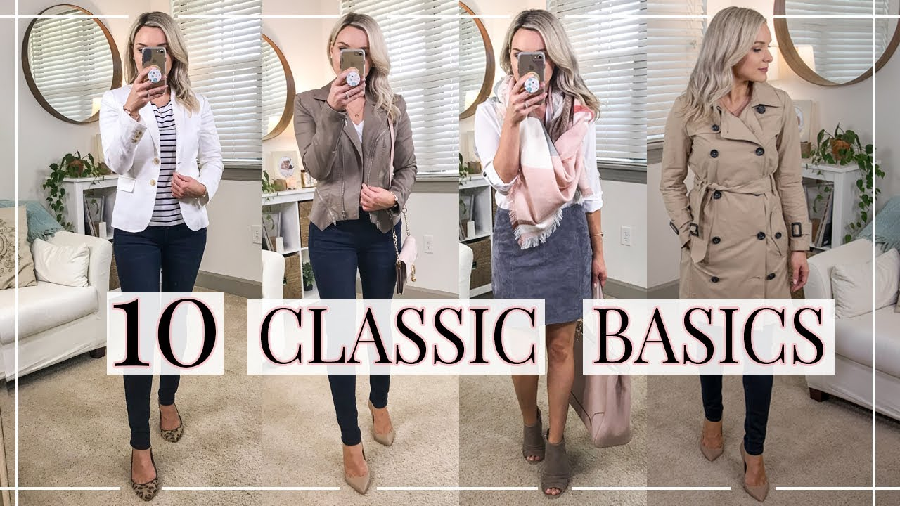 c9c9830df3be 10 CLASSIC BASICS YOU NEED IN YOUR CLOSET | Shannon Sullivan - YouTube