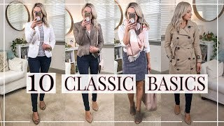 10 CLASSIC BASICS YOU NEED IN YOUR CLOSET | Shannon Sullivan