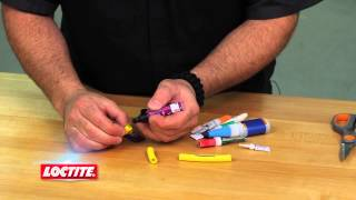 Loctite Super Glue Plastic Bonding System - Great for Rubber Repair!