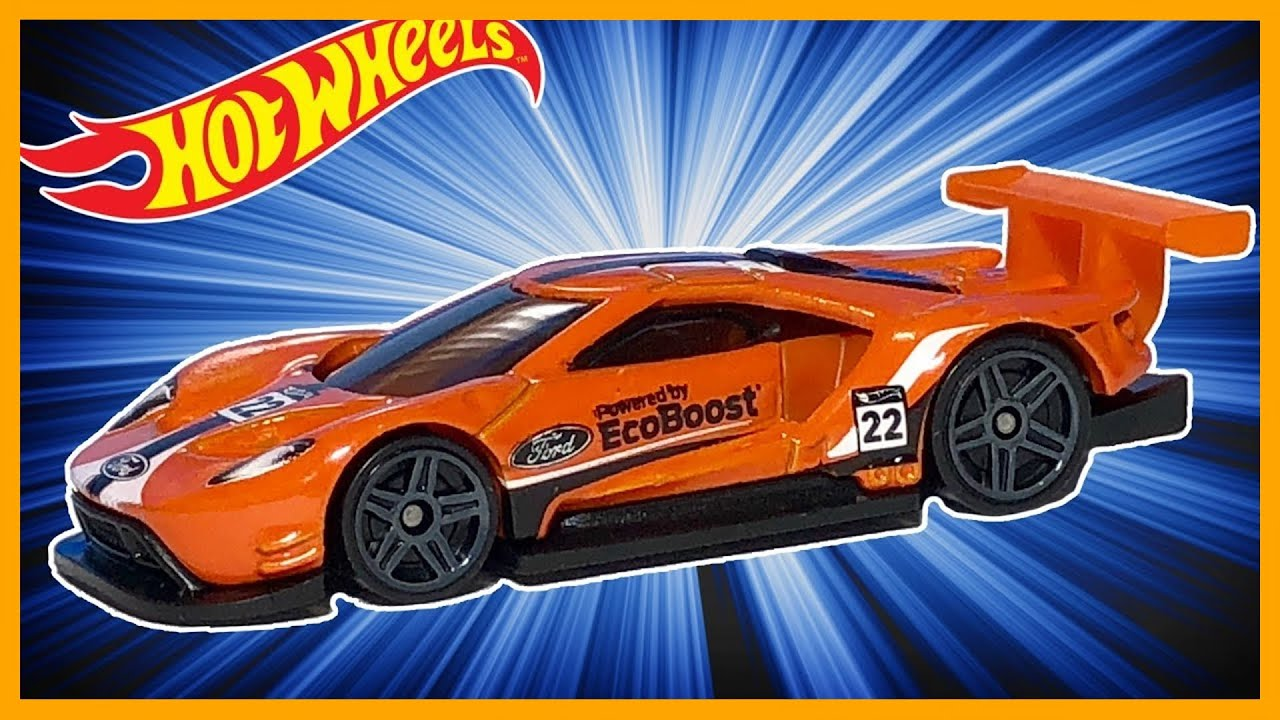 Hot Wheels  Ford Gt Race Orange Review