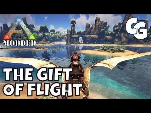 Modded ARK: Survival Evolved - The Gift of Flight - S1E03 - Single Player Gameplay