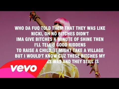 Nicki Minaj - Danny Glover [Explicit Verse]