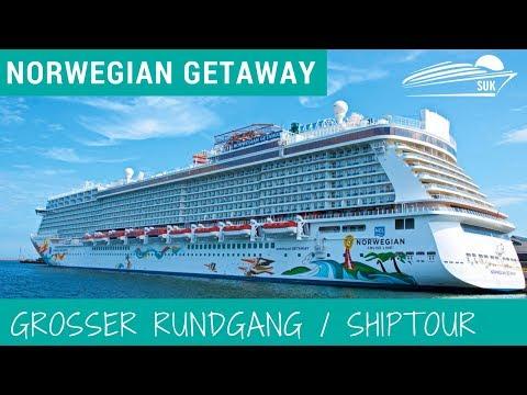 Norwegian Getaway: Grosser Rundgang / Ship Tour