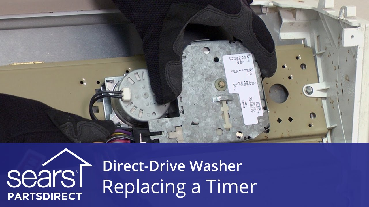 Replacing The Timer In A Direct Drive Washer Kenmore Whirlpool And Maytag
