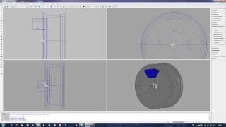 Создание модели литого диска