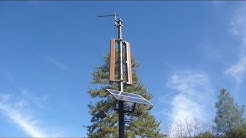 Solar Powered Repeater Example. Commercial Grade