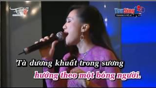 Karaoke CHUYẾN TÀU HOÀNG HÔN thiếu giọng nam thumbnail