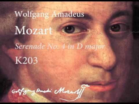 "Download musik Mozart, Serenade No. 4 in D major, K. 203 ""Colloredo"" Mp3 gratis"