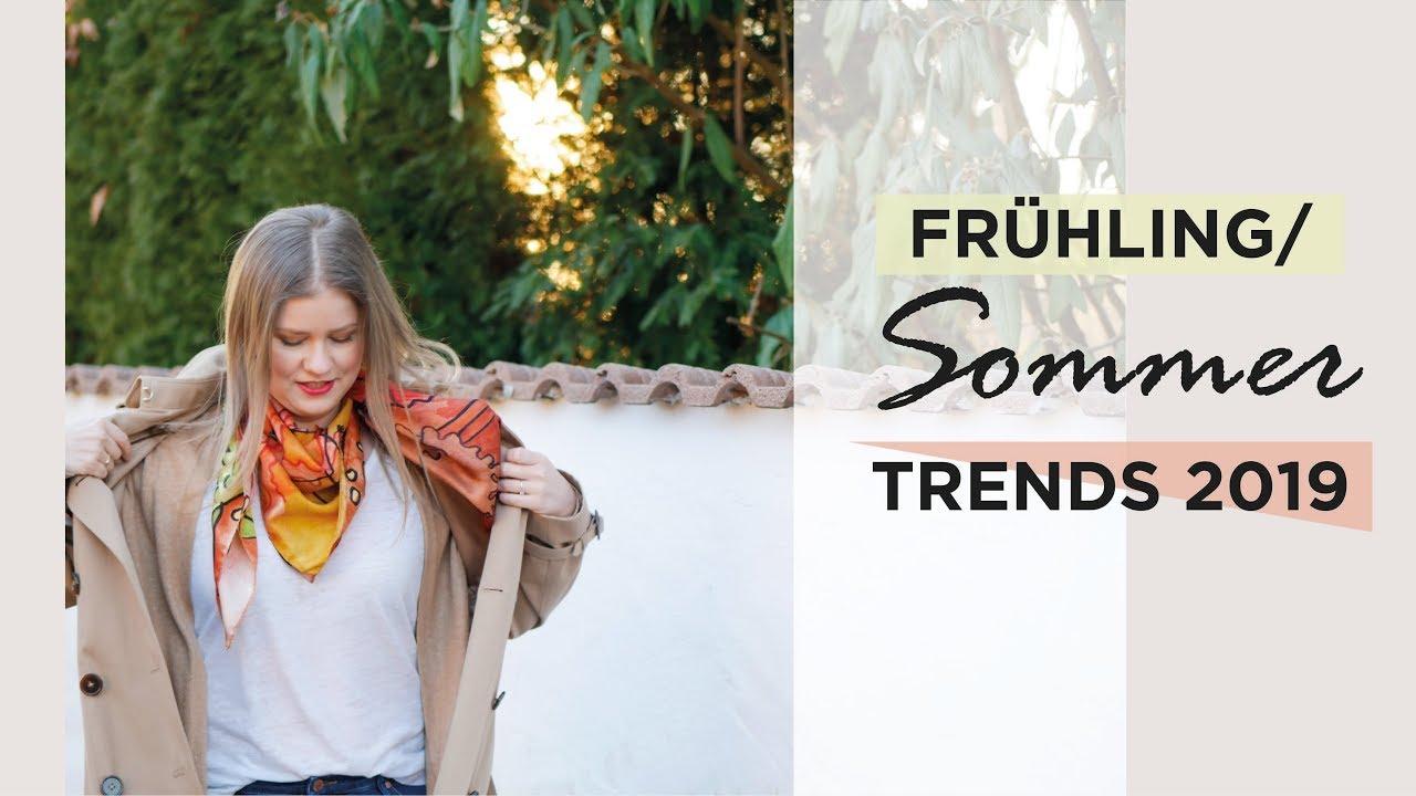 2019 original Verkauf Einzelhändler fantastische Einsparungen Modetrends Frühling/Sommer 2019   Die 8 SCHÖNSTEN Trends für Deinen  Kleiderschrank