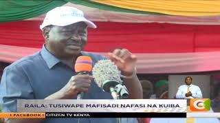 Kiongozi wa ODM Raila Odinga apinga uagizaji wa mahindi